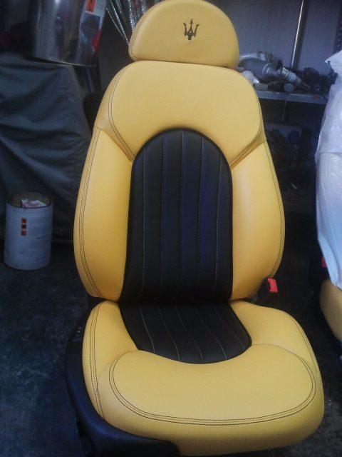 Tapizado de asiento MASERATI