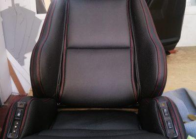tapizado asiento corvette