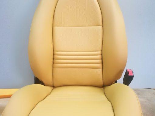 tapizado asiento de PORSCHE