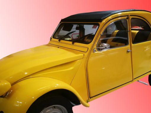 tapizado coche clásico CITROEN 2CV