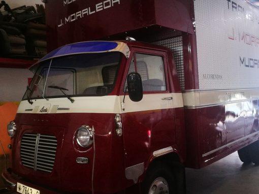 tapizado furgoneta AVIA clásica